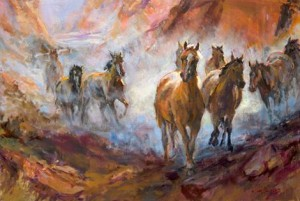 Painting by Julie Rogers | Image courtesy of Arts to Zion/Arts and Studio Tour, St. George News