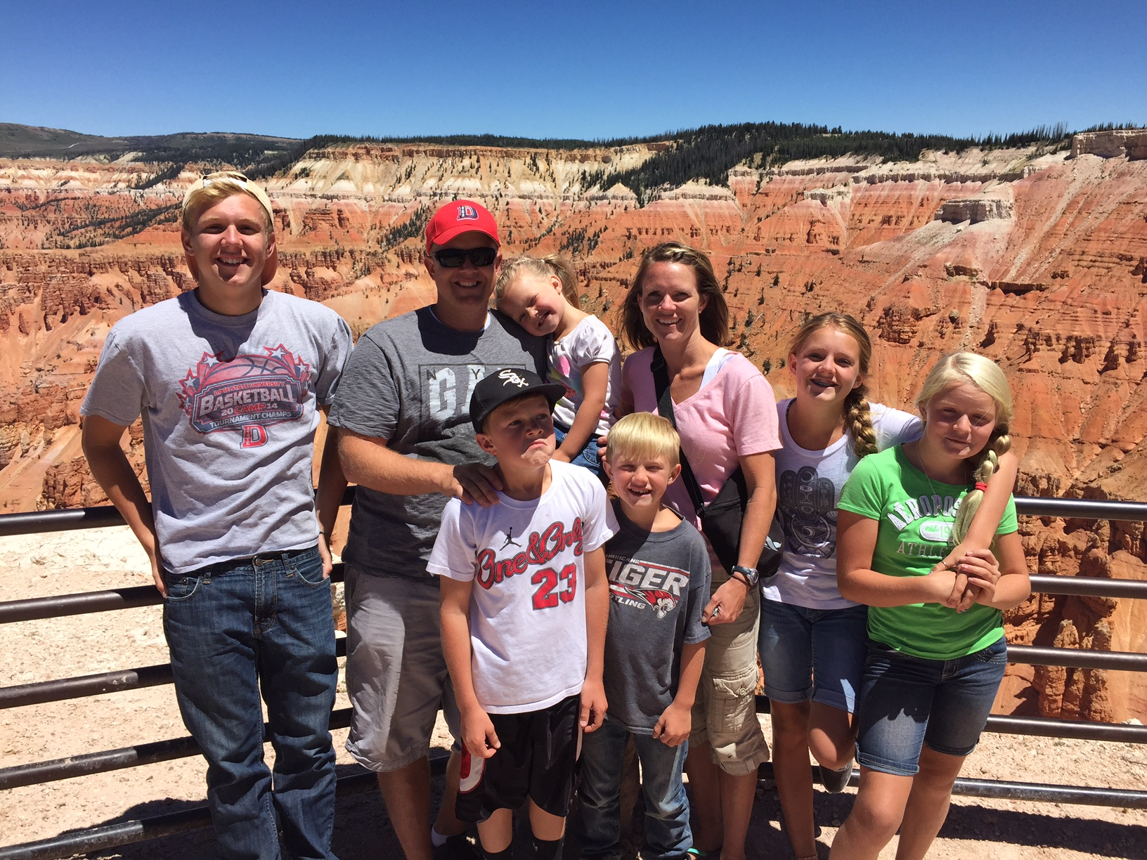 Micah Gubler and family | Submitted photo, St. George News