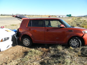 High speed chase ends in felony charges, Interstate 15, Iron County, Utah, September 23, 2015 | Courtesy of Utah Highway Patrol, St. George News