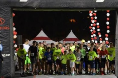 Dixie State University Midnight Rebel 5K, St. George, Utah, date not specified | Photo courtesy of Dixie State University Alumni Association, St. George News