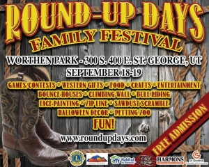 """""""Round-Up Days"""" flyer, location and date not specified 