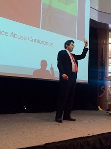 Department of Vermont Health Access Chief Medical Officer Tom Simpatico was a keynote speaker at the Utah Fall Substance Abuse Conference held at the Dixie Center, St. George, Utah, Sept. 23, 2015 | Photo by Kimberly Scott, St. George News