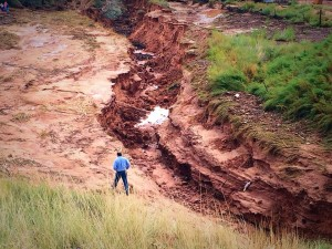 Aftermath of flash flooding that claimed the life of at least 13 women and children in Hildale, Utah, Sept. 15, 2015 | Photo by Kimberly Scott, St. George News