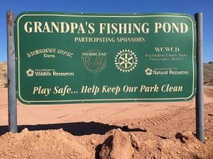 Grandpa's Pond, Hurricane, Utah, Sept. 3, 2015 | Photo by Ric Wayman, St. George News