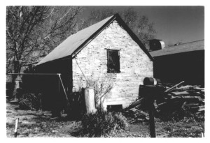 Historic tithing granary, Santa Clara, Utah, circa 1998   Photo by Cory Jensen, courtesy of Washington County Historical Society, St. George News