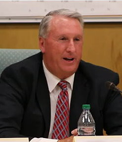 Craig Hammer during a debate between other council candidates, St. George Utah, June 2015   Photo by Mori Kessler, St. George News