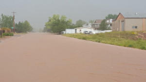 Flooding in Hildale, Utah and Colorado City, Arizona, Sept. 14, 2015 | Photo reader submitted, St. George News