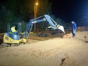 Search and recovery operations continue in the wake of flash flooding in Hildale, Utah, Sept. 15, 2015 | Photo by Kimberly Scott, St. George News
