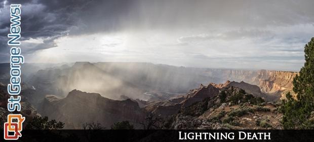 man killed by lightning at grand canyon  u2013 st george news