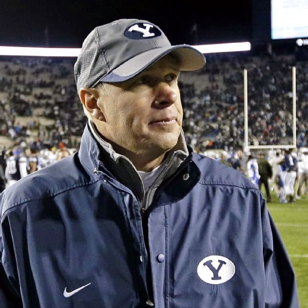 Things did not go well for Bronco Mendenhall and the Cougars against Michigan.