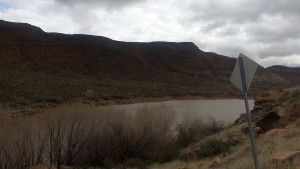 A view of the north-end Quail Creek Reservoir, Quail Creek State Park, Hurricane, Utah, March 3, 2015 | Photo by Mori Kessler, St. George News