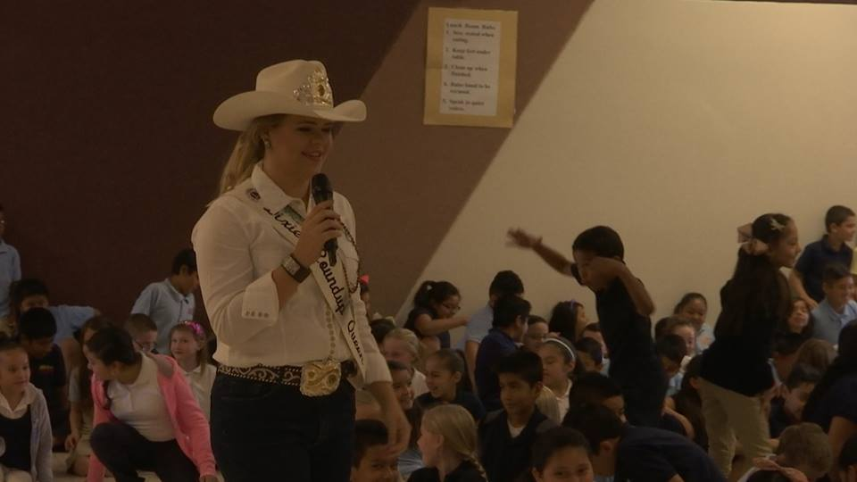 Roundup Royalty Tour Local Schools St George News