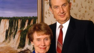 Elder Richard G. Scott and his wife, Jeanene Scott, location not specified, circa 1980s | Photo courtesy of The Church of Jesus Christ of Latter-day Saints, St. George News