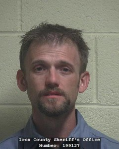 Austin Michael Shaffer, of Parker, Colorado, booking photo posted Sept. 23, 2015 | Photo courtesy of Iron County Sheriff's Office, St. George News