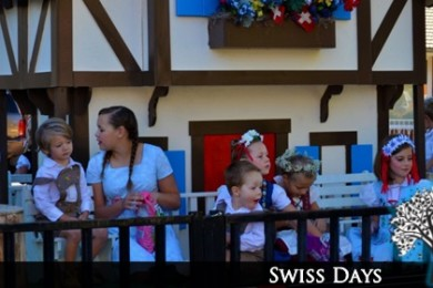 Children on a Swiss Days float, Santa Clara, Utah, date not specified | Photo courtesy of Kathleen Nielson, St. George News