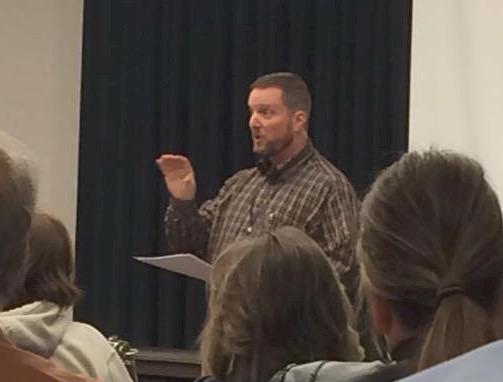 """Bryan Hyde addresses """"Western Freedom Festival"""" in Cedar City, Utah, Oct. 24, 2015   Photo by Nathan Cowlishaw courtesy of Bryan Hyde, St. George News"""