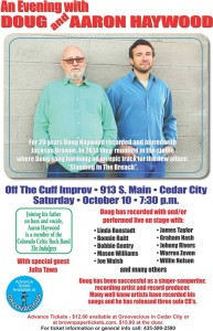 Event flyer | Image courtesy of Doug Haywood, Aaron Haywood, St. George News