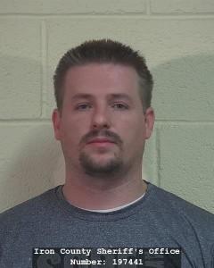 Chad Ryan Huntsman, Iron County Jail, Cedar City, Utah, Sept. 3, 2015   Courtesy of Iron County Bookings, St. George News