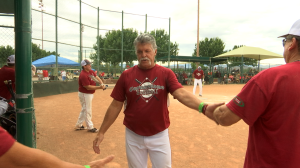 Hunstman World Senior Games Softball, Oct. 17, 2015 | Photo by Leanna Bergeron, St. George News