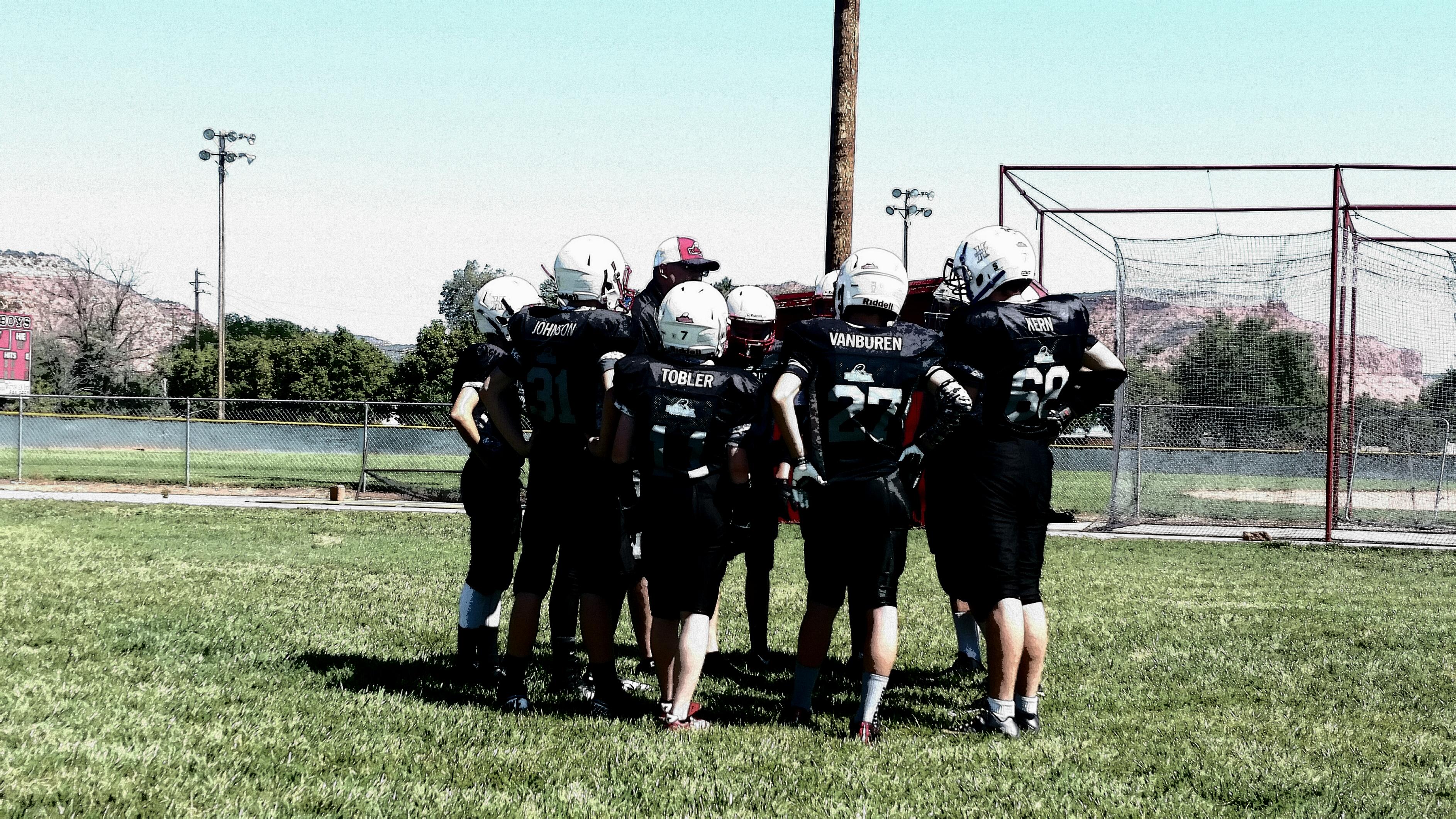 Youth football, Hurricane, Utah, Oct. 3, 2015   Photo courtesy of Jason Smith, St. George News