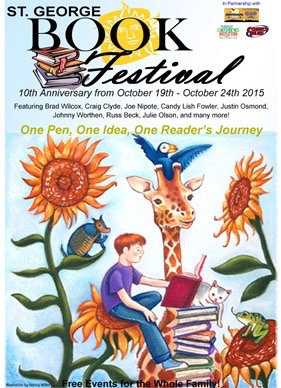 Image courtesy of St. George Book Festival, St. George News
