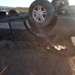 A St. George man is dead after his vehicle rolled while travelling on Mt. Trumbull Loop at milepost 3, south of River Road in St. George, Mohave County, Arizona, Oct. 12, 2015 | Photo courtesy of Mohave County Sheriff's Office; Photo extended slightly at lower end, St. George News