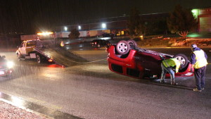 Results of an accident on 3050 East that police say was caused by a driver running a stop sign, St. George, Utah, Oct. 17, 2015 | Photo by Mori Kessler, St. George News