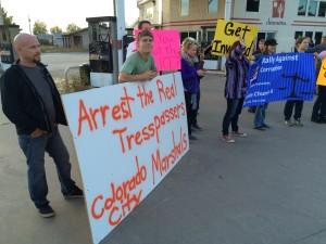 Community rally, Colorado City, Arizona, Oct. 25, 2015   Photo by Cami Cox Jim, St. George News