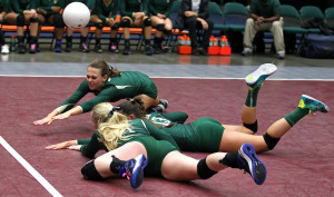 3A State Volleyball Tournament, Orem, Utah, Oct. 29, 2015, | Photo by Robert Hoppie, ASPpix.com, St. George News