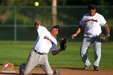 Huntsman Senior Games, Softball, St. George, Utah, Oct. 8, 2015, | Photo by Robert Hoppie, ASPpix.com, St. George News