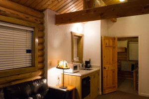 Cabin suites are equipped with kitchenettes at Zion Ponderosa Ranch Resort, Mt. Carmel, Utah, date not specified | Photo courtesy of Zion Ponderosa Ranch Resort, St. George News
