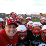 Coach Jason Smith and football team, October 6, 2015 | Photo courtesy of Jason Smith, St. George News