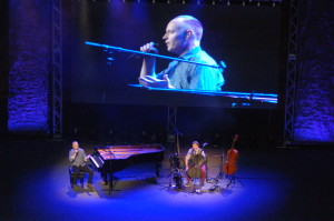 The Piano Guys play to a sold out audience at Tuacahn Ampitheatre, Ivins, Utah, Oct. 22, 2015 | Photo by Hollie Reina, St. George News