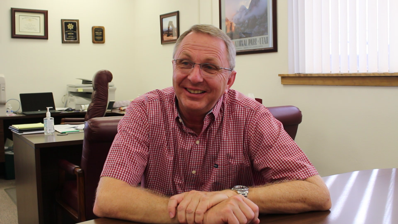 Washington County Administrator Dean Cox, St. George, Utah, Sept. 30, 2015 | Photo by Mori Kessler, St. George News
