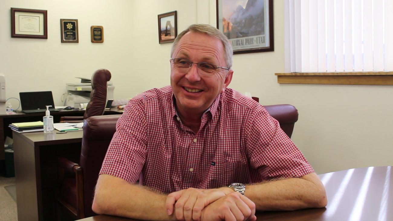 Washington County Administrator Dean Cox, St. George, Utah, Sept. 30, 2015 | Photo by Mori Kessler, St. George News