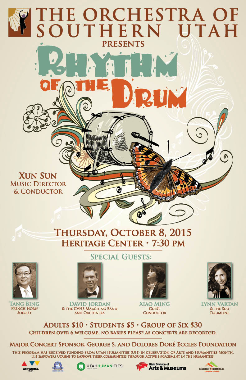 Event flyer | Image courtesy of the Orchestra of Southern Utah, St. George News