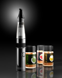 e-cigarette and e-liquid
