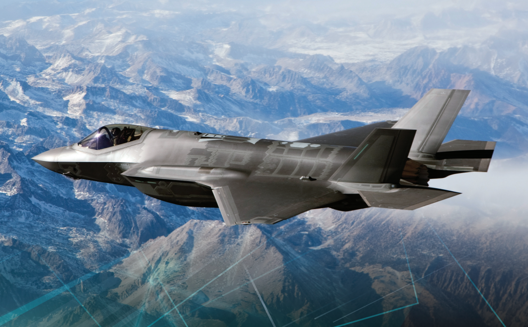 The 5th generation F-35 Lightning II integrates advanced stealth technology into a highly agile, supersonic aircraft that provides the pilot with unprecedented situational awareness and unmatched lethality and survivability | Media photo and description courtesy of Lockheed Martin, St. George News
