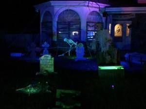 Spooky Halloween decorations abound at the home of Todd Wood, Santa Clara, Utah, Oct. 27, 2015   Photo by Hollie Reina, St. George News