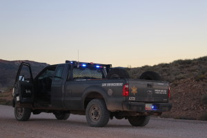 One man is dead after his vehicle rolled while travelling north on Bureau of Land Management Road 1069, Mohave County, Arizona, Oct. 12, 2015 | Photo by Cody Blowers, St. George News