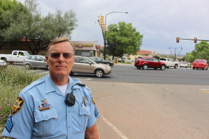 St. George Police Sgt. Craig Harding shares his 32 years of traffic patrol experience, St. George, Utah, Oct. 6, 2015 | Photo by Ric Wayman, St. George News