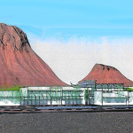 A conceptual picture of Rocky Vista University | Image courtesy Ivins City