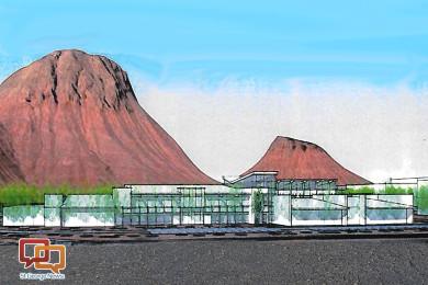 A conceptual picture of Rocky Vista University | Image courtesy Ivins City