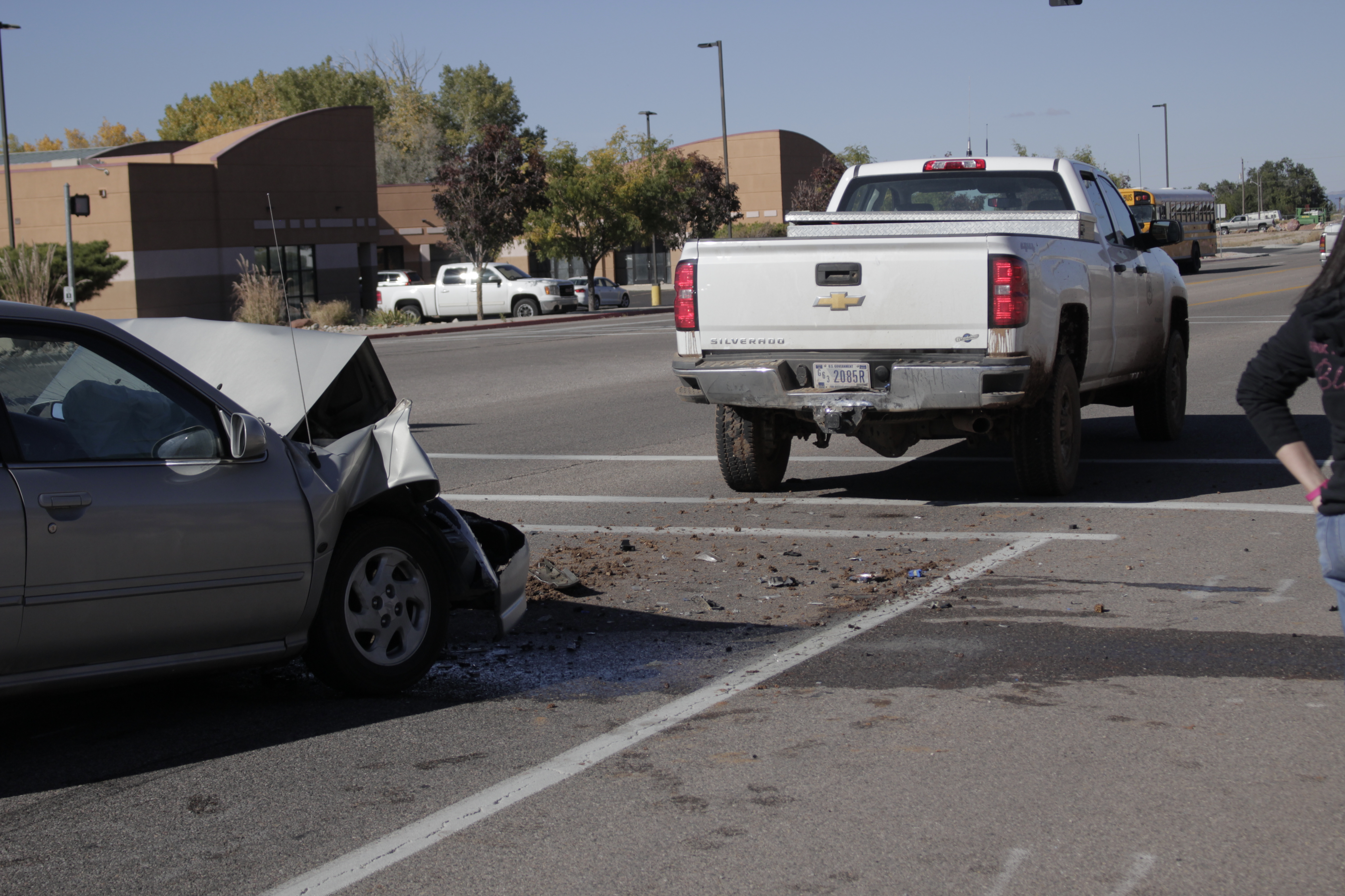 Hyundai Of Yuma >> Car, Forest Service truck involved in rear-end collision ...