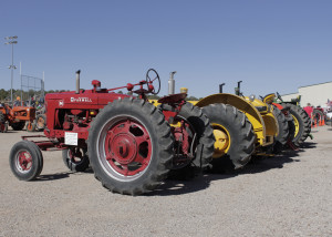 Tractors new and old were on display at the Cedar City Livestock and Heritage Festival, Cross Hollows Event Center, Cedar City, Utah, Oct. 24, 2015 | Photo by Carin Miller, St. George News