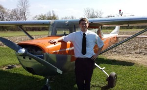Nathan Stoddard in front of a fixed wing, location and date not specified | Photo courtesy of Upper Limit Aviation, St. George News