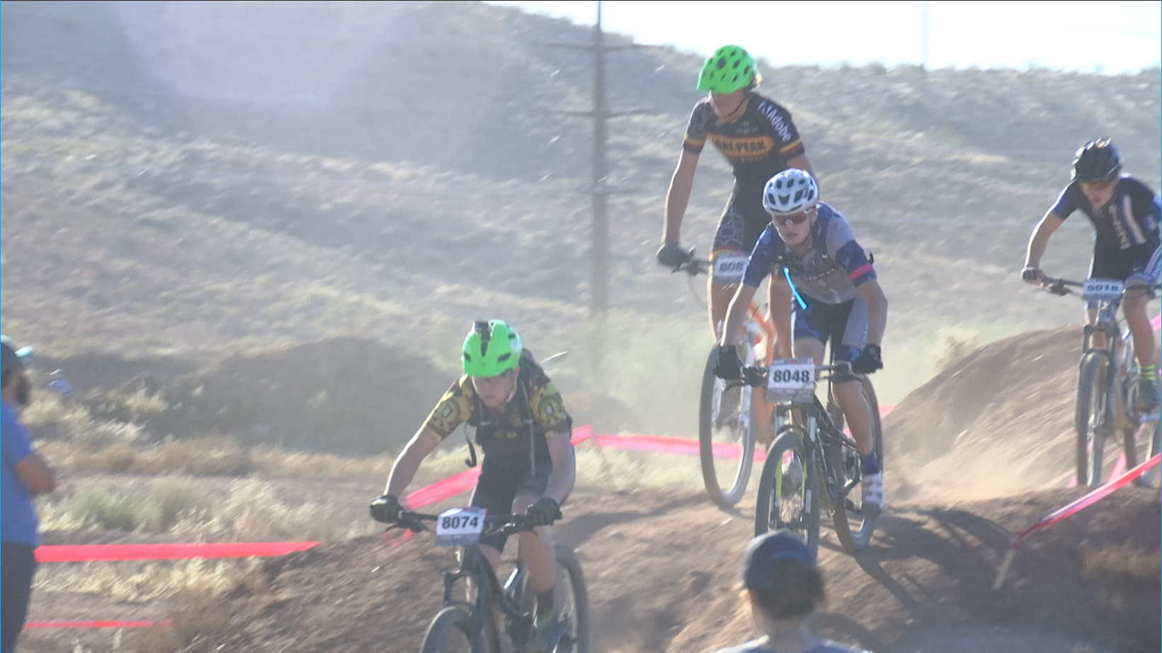 Utah High School Cycling League state championship race, St. George, Utah, Oct. 24, 2015 | Photo by Sheldon Demke, St. George News