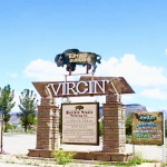 Virgin Town monument, Summer 2015 | Photo by Nataly Burdick, St. George News