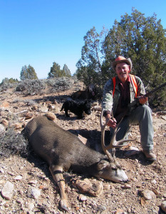 AJ Rogers with his buck deer, location unspecified, Nov. 7, 2004 | Photo courtesy of Brenda Rogers, Utah Division of Wildlife Resources, St. George News