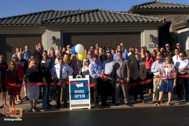 Ribbon-cutting at the grand opening of the BRIO active adult community, Washington City, Utah, Oct. 2, 2015 | Photo courtesy of Sorenson Advertising, St. George News